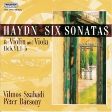 Joseph Haydn: Hegedű-brácsa duók