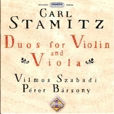 Carl Stamitz: Duók hegedűre és brácsára I.